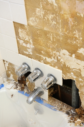 Water Damage Repair Columbia Tile Grout Services - Bathroom water damage repair